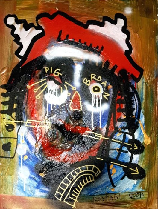 Paul Kostabi - Paintings Are The New Blog