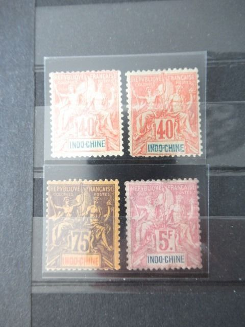 Indochina - Significant bulk batch of stamps
