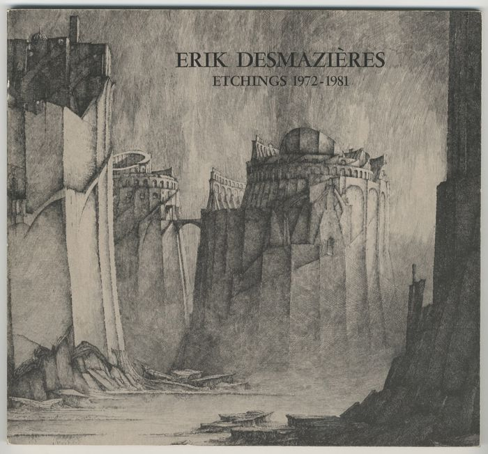 Erik Desmazieres / A.Fitch - Etchings 1972-2001 - 3 volumes - 1981/2002