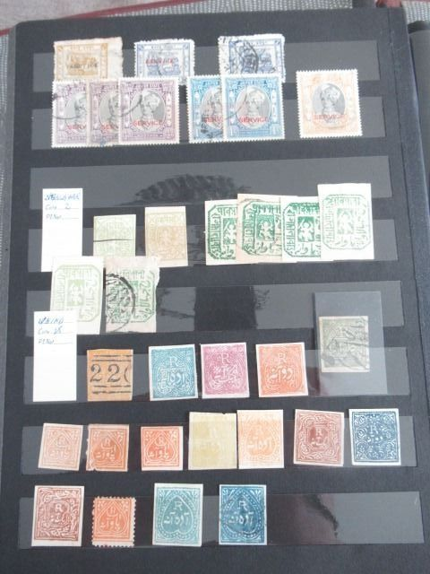 Princely Staten van India - Advanced collection of stamps