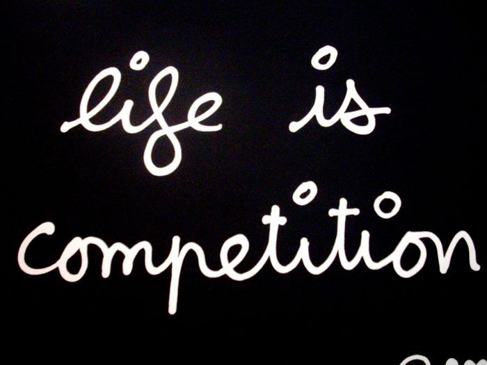 Ben Vautier - Life is Competition