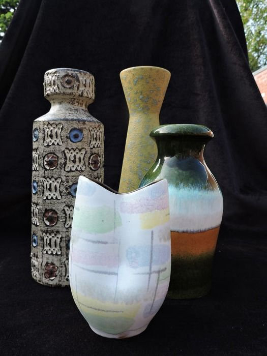 Germany Vintage Vases (4) - Earthenware
