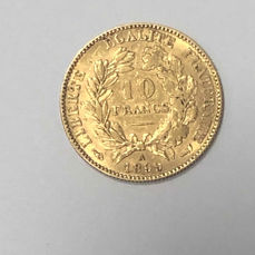 France - 10 Francs 1899-A Céres - Gold
