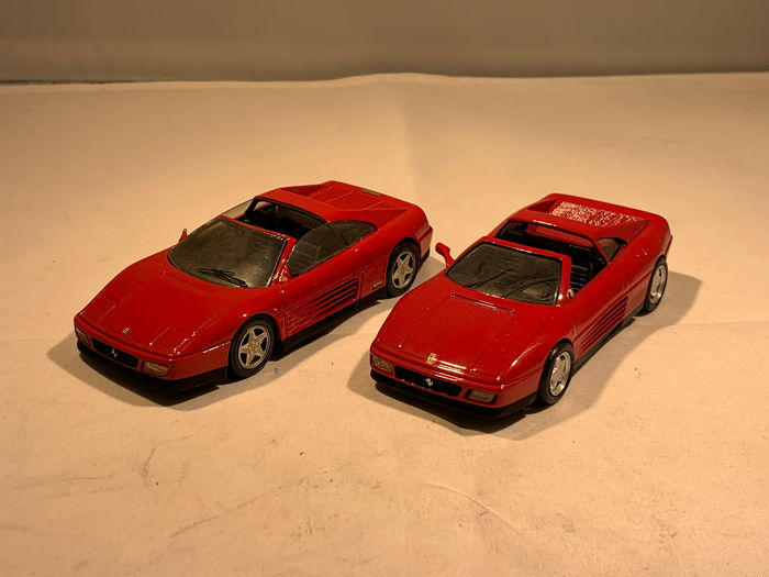 Provence Moulage - 1:43 - 2x Ferrari 348 - Made in France