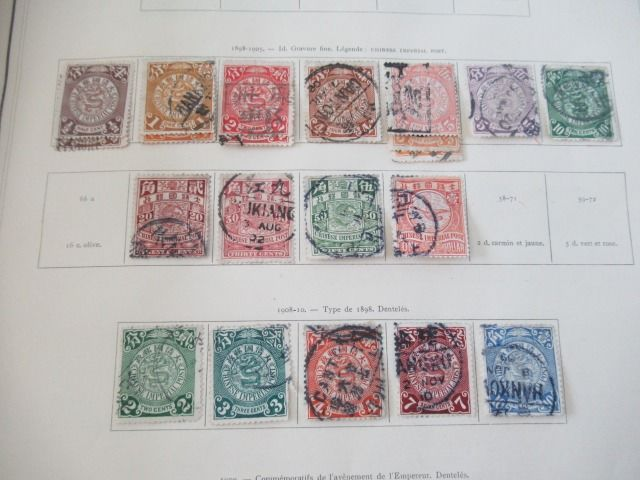 Azië inclusief China en Oceanië - Collection of classic stamps