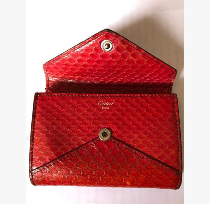 Cartier wallet card holder