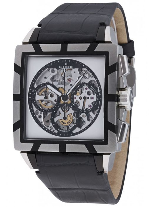 Edox - Classe Royale Jackpot Chronograph Limited Edition - 95001 357N NIN - Hombre - 2011 - actualidad