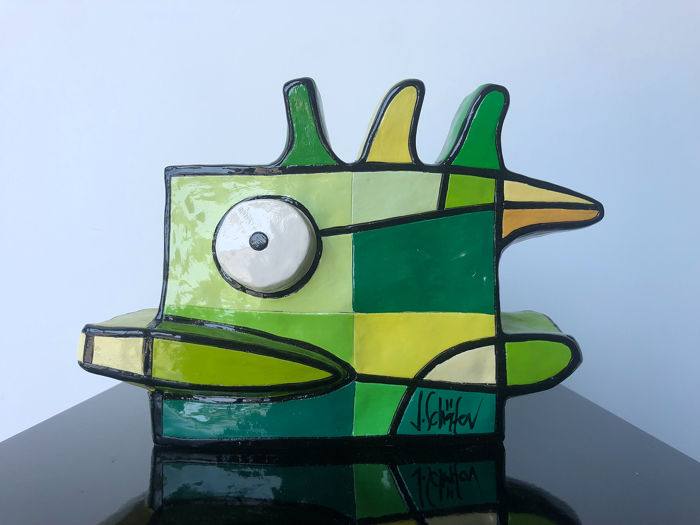Jacqueline Schafer - Green duck