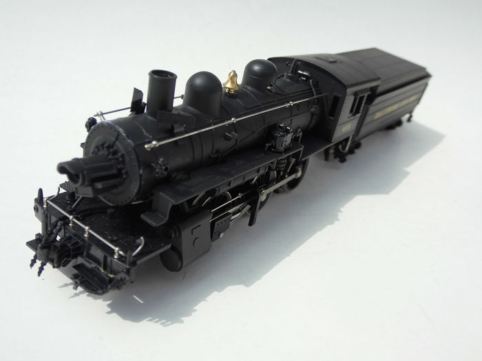 Mehano H0 - M 515/29140 - Steam locomotive with tender - Baltimore And Ohio 485 - Santa Fe