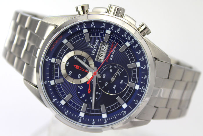 Festina - Sports Chronograph - Perfect Condition - Homme - 2011-aujourd'hui