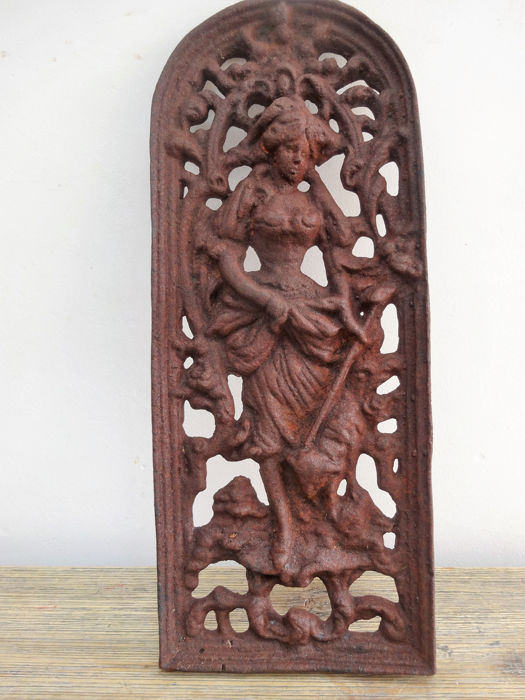 Door ornament with national representation - Cast iron - 20th century