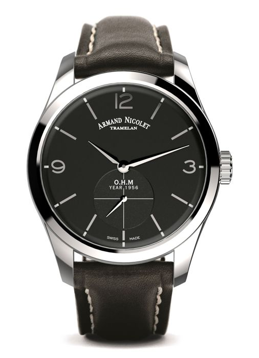 Armand Nicolet - LB6 Small Seconds Limited Edition - A134AAA-NR-P140NR2 - official dealer - Homme - 2011-aujourd'hui