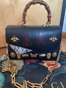 bfa8078e8e Gucci - Timited Edition Otilia Insect Top Handle Borsa a spalla