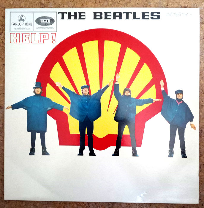 Beatles - Help (with Shell on Cover) - LP Album - 1979/1979