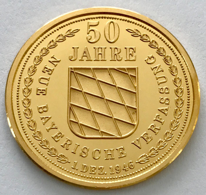 Germany - Patrona Bavaria - 15,36 g - Gold