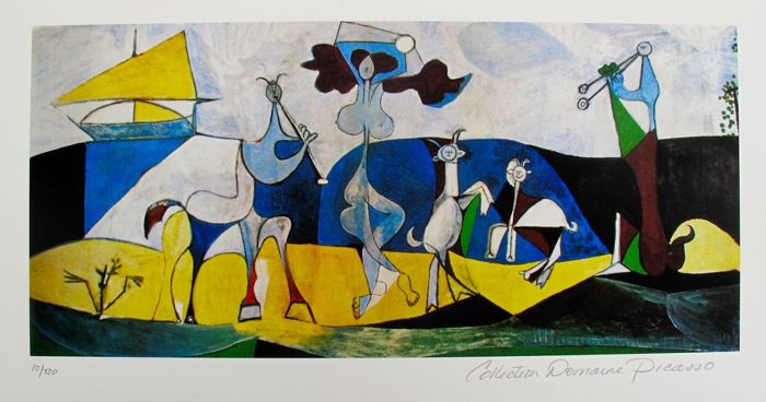 Pablo Picasso ( after ) - Joy of Living