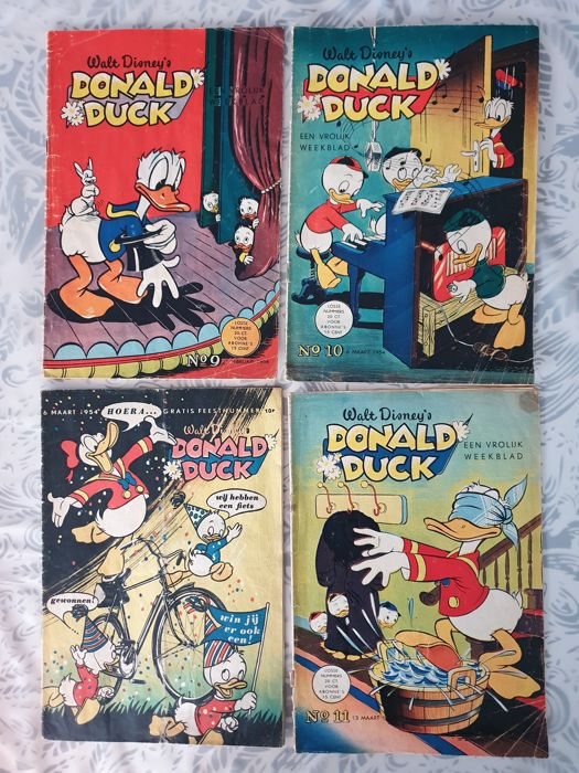 donald duck weekblad jaargang 1954