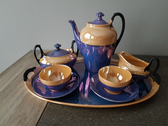 Phoenix Checho -slovakia - Art Deco tete a tete servies