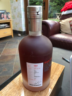 Bruichladdich 1991 20 years old Micro-provenance Chateau Lafite  - Original bottling - 0,7 litra