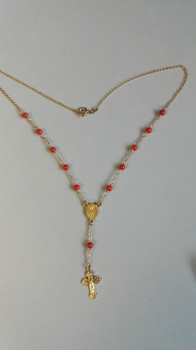 18 kt. Yellow gold - Necklace, Necklace with pendant