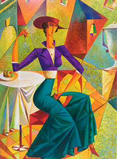 Serg Ljacevich - Lady and wine