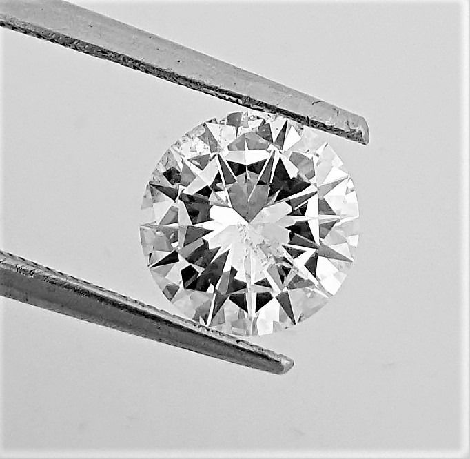 Diamond - 1.60 ct - Brilliant - D (colourless) - Clarity Enhanced, VS2