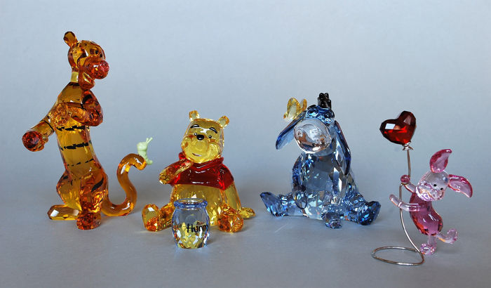 ee23ae057 Disney - Winnie the Pooh - Colored edition - Complete Set - Crystal ...