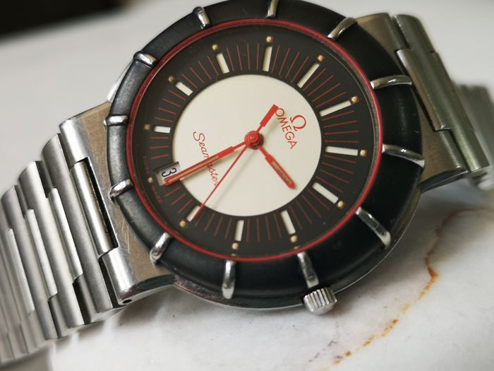 Omega - Seamaster Dynamic  Aka Spider Men's Quartz Watch - Heren - 1980-1989