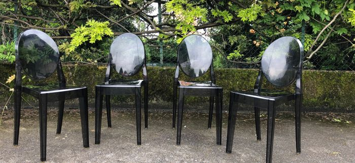 Sedie Victoria Ghost Usate.Philippe Starck Kartell Sedia 4 Victoria Ghost Catawiki