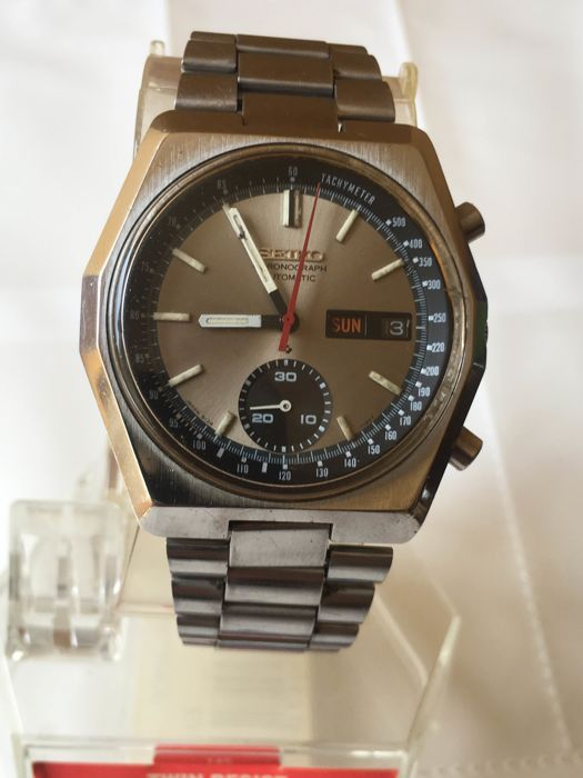 Seiko - automatic chronograph - 6139-7080 - Men - 1970-1979