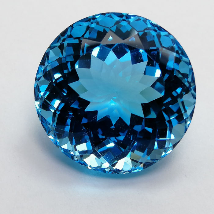 Topaz Swiss Blue - 40.68 ct
