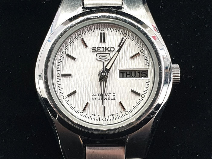 "Seiko 5 - "" NO RESERVE PRICE "" Automatic 21 Jewels - SYMC07  - Dames - 2011-heden"