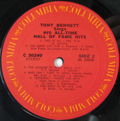Tony Bennett 16 Lp Albums Multiple Titles 2xlp Album