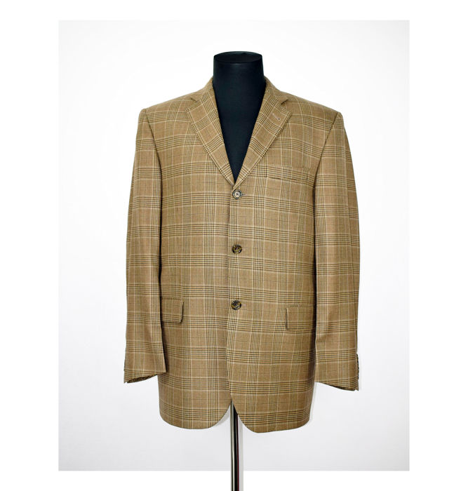 Burberry London - Blazer - Maat: EU 52 (IT 56 - ES/FR 52 - DE/NL 50)