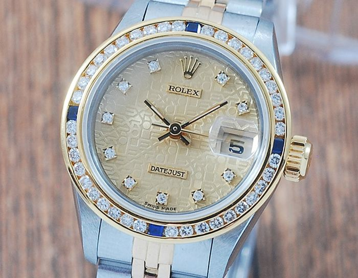 Rolex - Oyster Perpetual DateJust  - 69173 - Femme - 1980-1989
