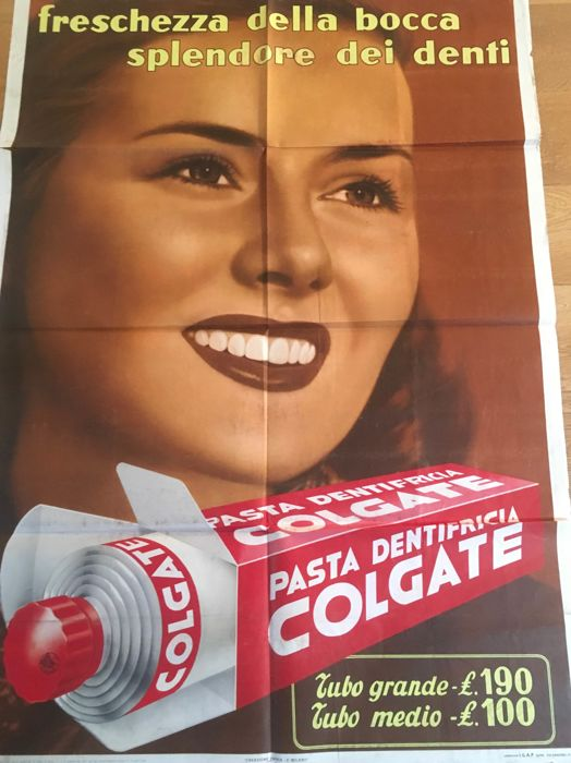 Anonymous, omnia P. - Colgate  - 1953