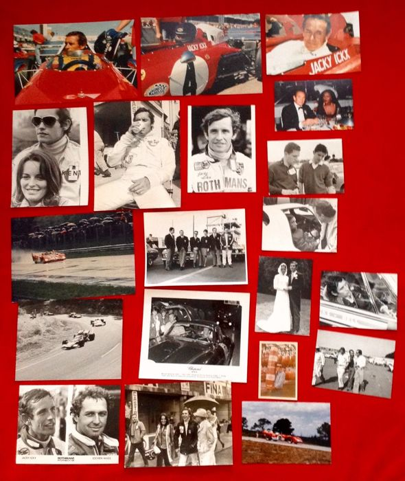Afbeelding - the belgian F.1 and Motor Racing champion: Jacky Ickx - very interesting photographic collection - Ferrari; Lotus; Poster -- Ferrari 312PB 1972 Poster - 19-1980