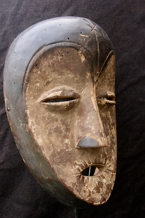 Vuvi mask - Gabon (1) - Wood - West Africa