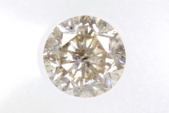 Diamant - 0.34 ct - Briljant - * NO RESERVE PRICE *
