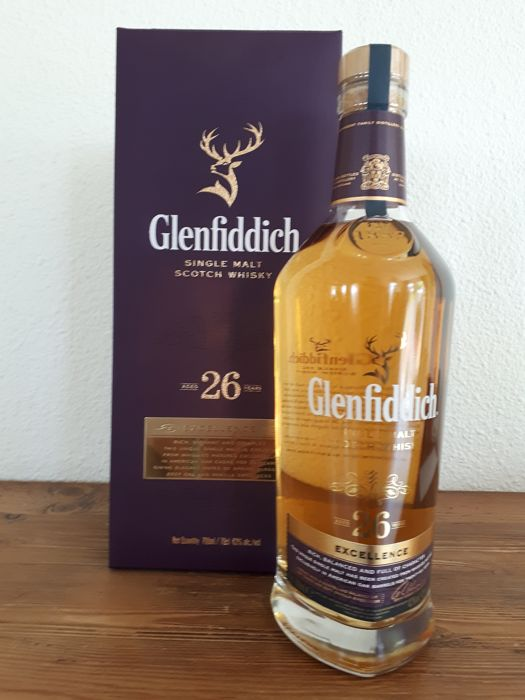 Glenfiddich 26 years old Excellence - Original bottling - 70cl