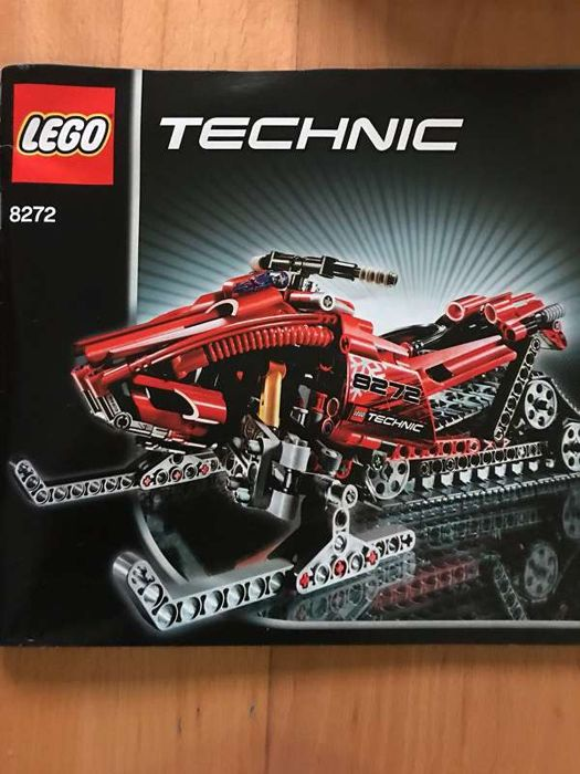 LEGO - Technic - 8272 - snowmobile