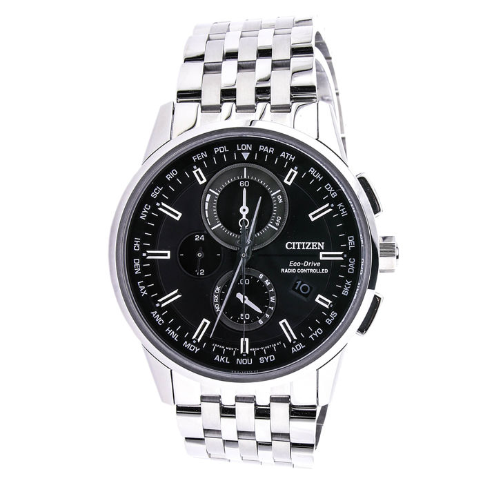 Citizen - AT8110-61E ECO-DRIVE RADIO CONTROLLED CHRONO SAPPHIRE - Heren - 2011-heden