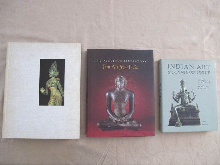 Three Art books / The Art of India - total 1242 pages - India - different periods