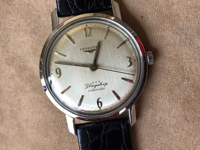Longines - Flagship- 1961 Mov. Cremagliera 340 - 6104-3.429 - Homme - 1960-1969
