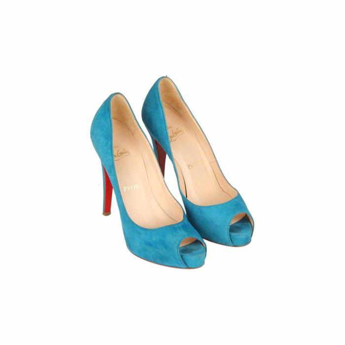 new style 016f2 26a2a Christian Louboutin Open-toe shoes - Size: IT 36.5 - Catawiki