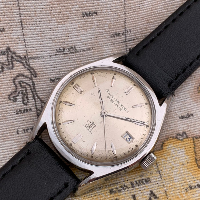 "Girard-Perregaux - Gyromatic - 39 Jewels - ""NO RESERVE PRICE""  - Uomo - 1960-1969"
