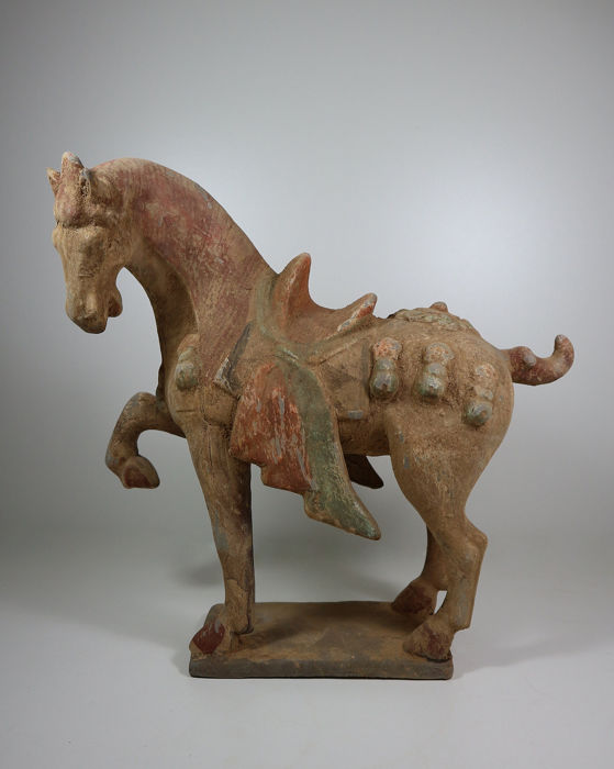 Sculpture - Earthenware - horse, Tang style - China - 21st century