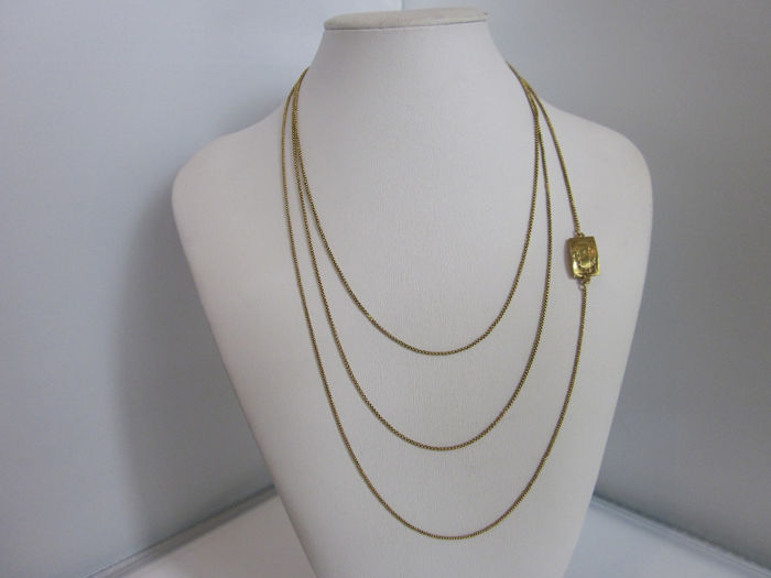 22 kt. Gold - Necklace