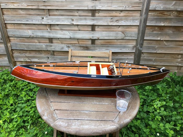 Riva Stan Craft USA Torpedo runabout New RIVA Model 90cm, Scale boat model - Mahogany, Wood - 2018