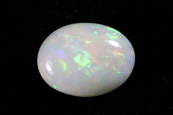 Wit Opaal - 6.39 ct